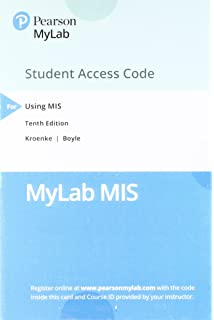 Using mis 10 student value edition plus mylab mis access card mylab mis with pearson etext access card for using mis fandeluxe Gallery