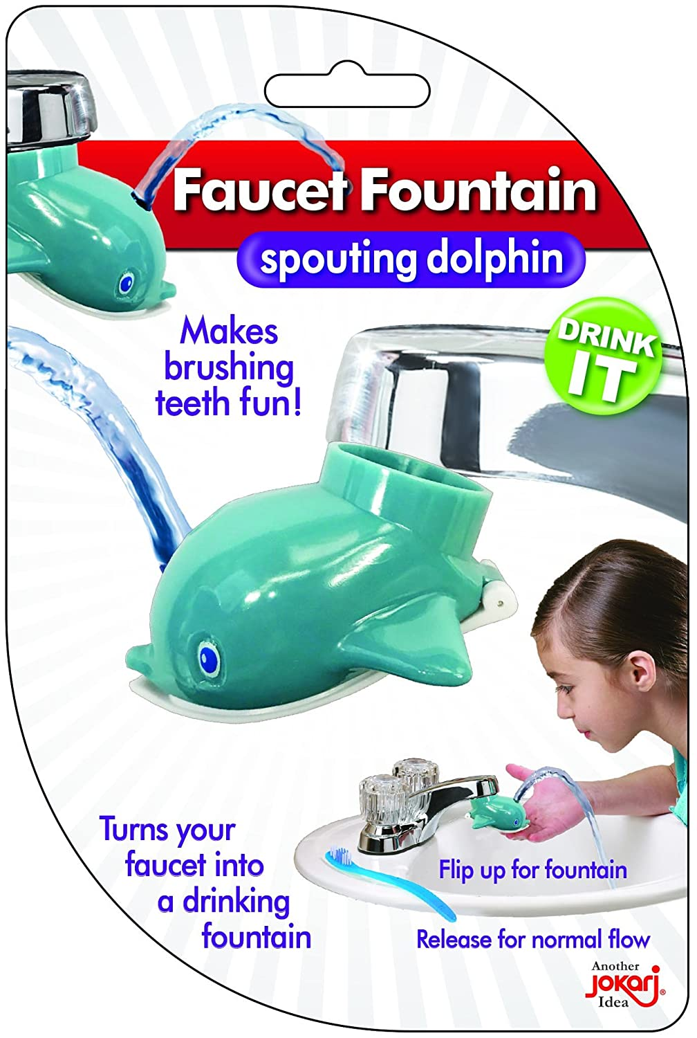 Faucet Drinking Fountain, Best Kids Water Dispenser, Makes ...