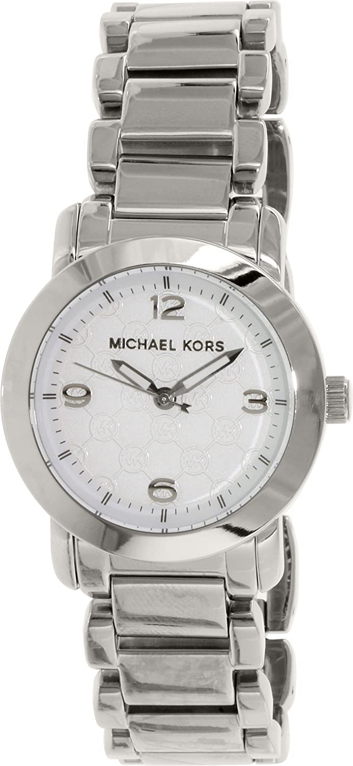 96c3847b9031 Amazon.com  Michael Kors Women s MK3157 Silver Stainless-Steel Quartz Watch   Michael Kors  Watches