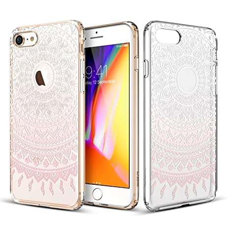 coque iphone 8 apple rose