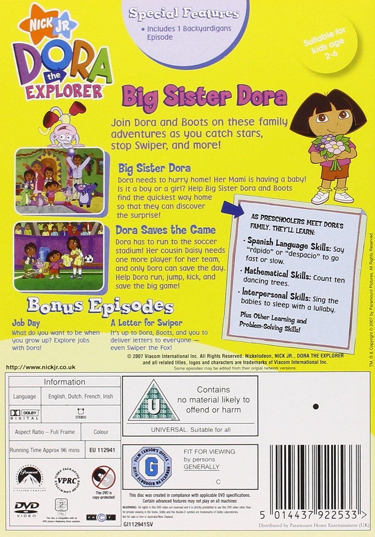 Dora The Explorer: DoraS Family Triple Pack Edizione: Regno Unito Reino Unido DVD: Amazon.es: Dora the Explorer-Dora S Famil: Cine y Series TV