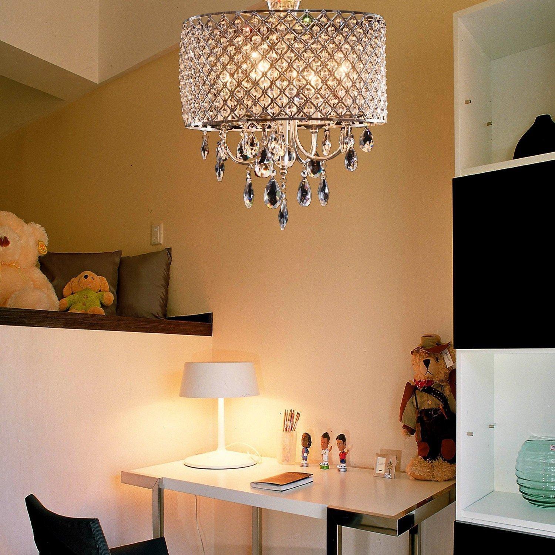LightInTheBox Drum Chandelier Crystal Modern 4 Lights Modern Home