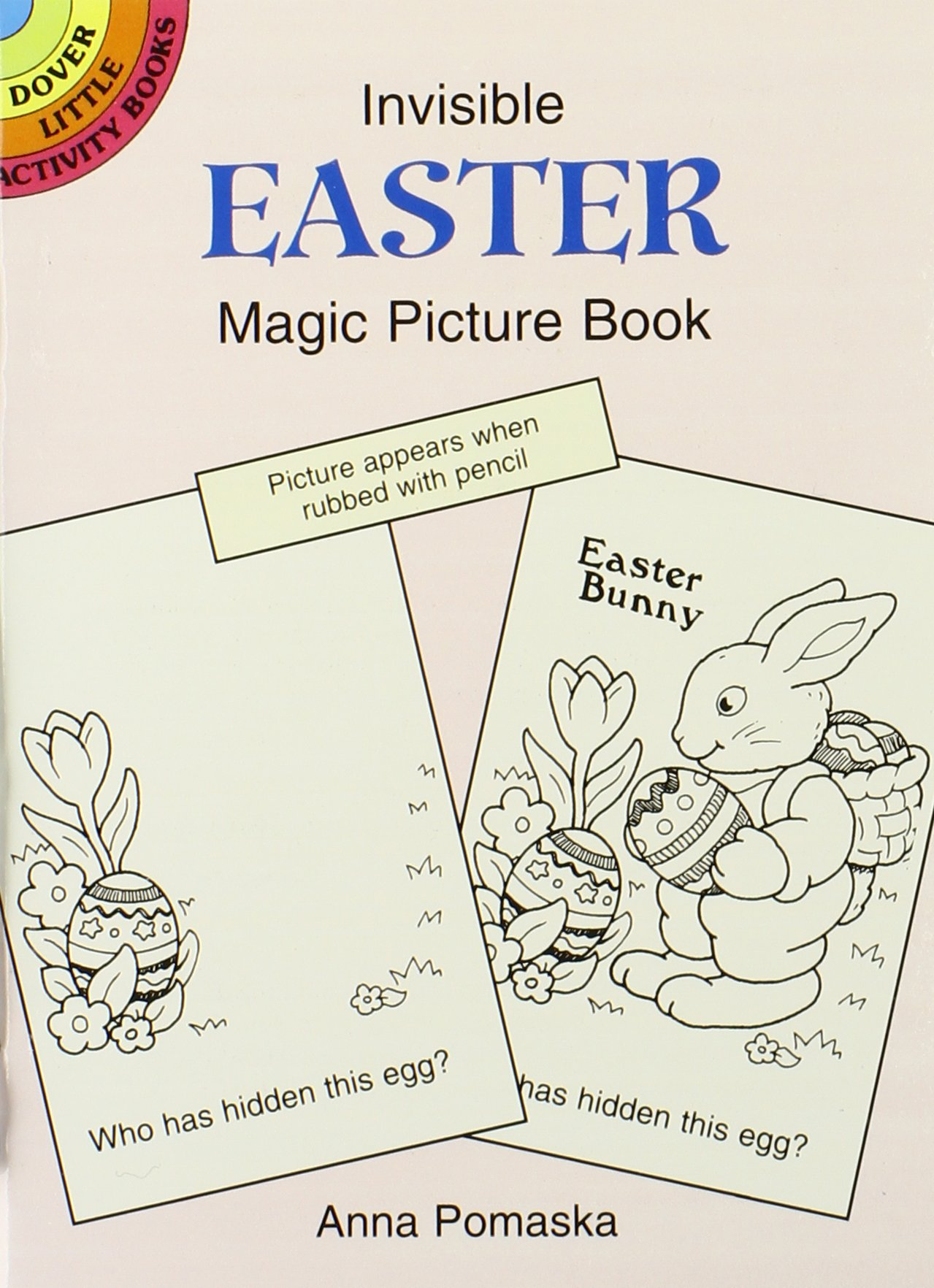 10 Easter Fun Books: Stickers, Stencils, Tattoos and More (Dover Little Activity Books) by Dover Publications (Image #5)