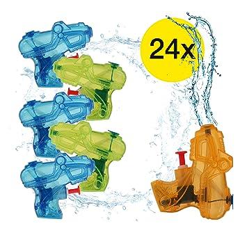 25x Mini pequeñas Pistolas de agua Pistolas de agua Pistola ...