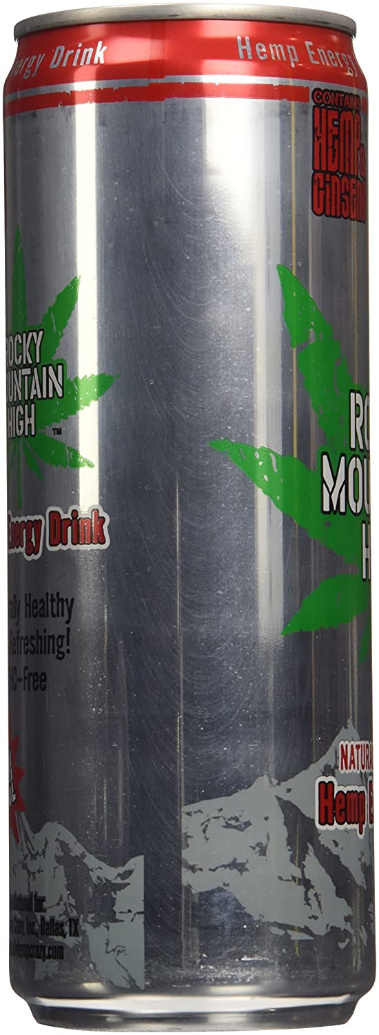 Amazon.com : Rocky Mountain High Hemp Energy Drink 12-Fluid Ounces ...