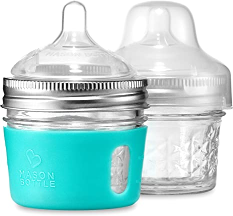 Mason Bottle Kit de bricolaje: BPA-libre bebé botellas de vidrio ...