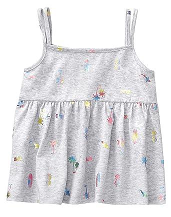 7a0bb6624ffe7c Amazon.com  Gymboree Girls  Printed Tank Top  Clothing