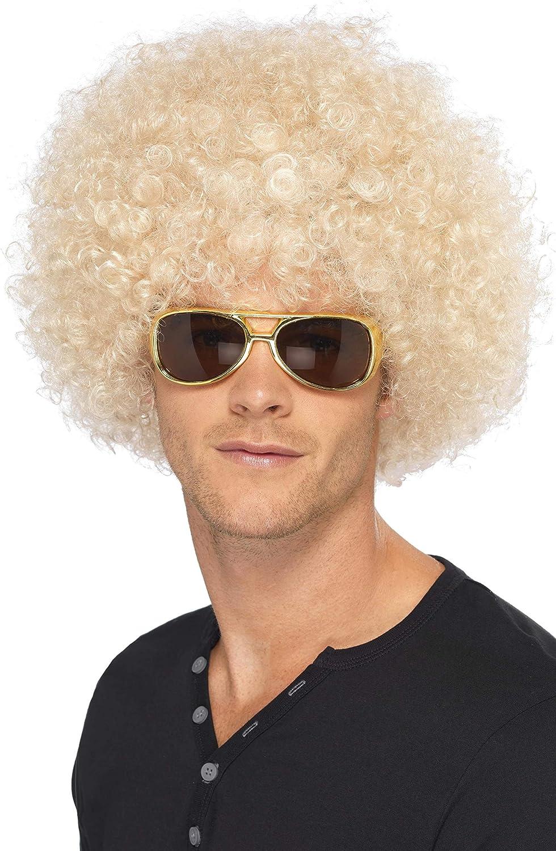1970s Fancy Dress Party Unisex Funky Afro Wig Disco Party Headwear Assorted