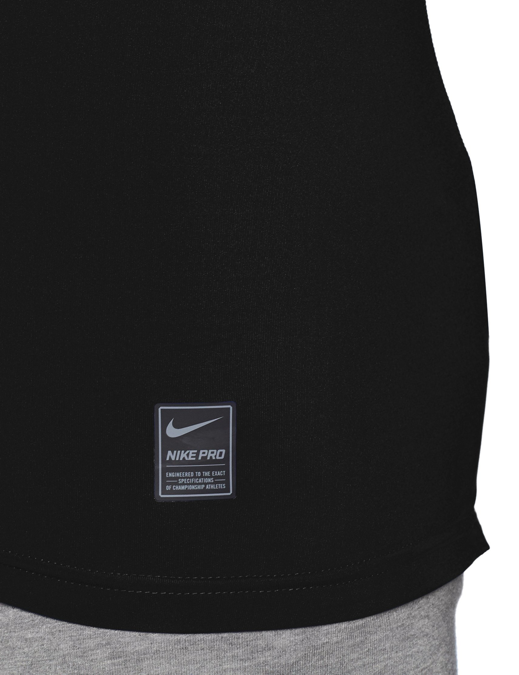 Nike Pro Longsleeve Compression Shirt (Black, M) by Nike (Image #3)