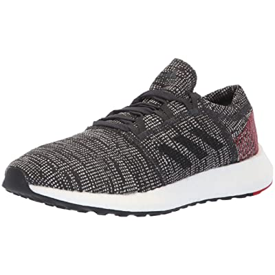 adidas Pureboost Go Black/Black/Red Running Shoes (AH2323): Shoes