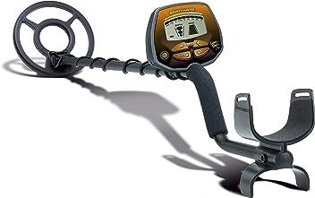 Diskriminationsfunktion und One-Touch-Pinpoint-Modus 8-Segment-Zielobjekt-Identifizierung Bounty Hunter Titanium Metalldetektor Metallsuchger/ät mit LCD-Display ALL METALL Modus