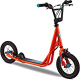Mongoose Trace Youth/Adult Kick Scooter Folding and Non-Folding Design, Regular, Lighted, and Air Filled Wheels, Multiple Col