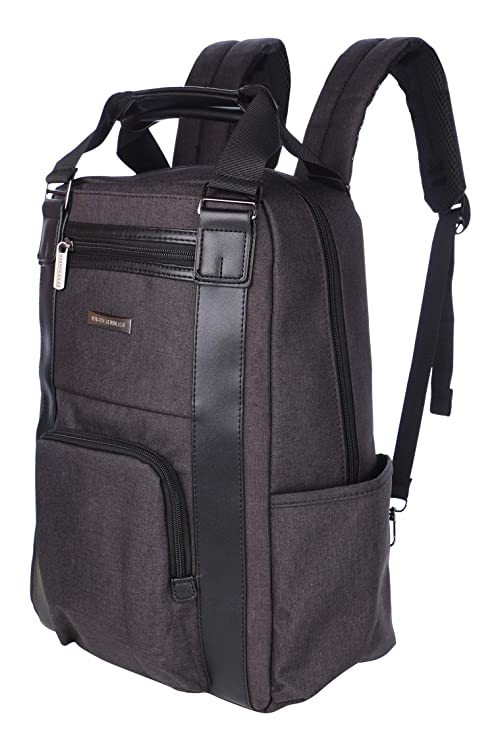 090c5b24e844 Nasher Miles Petra Blue Uber-Stylish Melange Fabric 2-Way Backpack with  Laptop Compartment 26L  Amazon.in  Bags