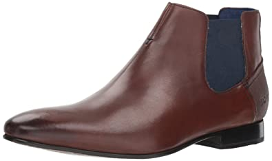 22a069b6ac5fac Ted Baker Men s LOWPEZ Chelsea Boot Brown Leather 8 ...