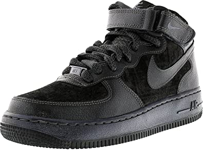 Shoes Air Sneakers 805292 '07 Womens Prm Nike 1 Mid Force Trainers CexrBodW
