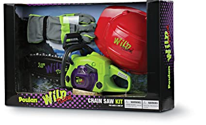 Amazon.com: Poulan 581506801 Wild Thing Juguete Chainsaw ...