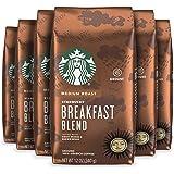 Starbucks Medium Roast Ground Coffee — Breakfast Blend — 100% Arabica — 6 bags (12 oz. each)