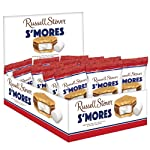 Russell Stover S'Mores Milk Chocolate, Box (18 Pack x 37g), 666g, 666 Grams