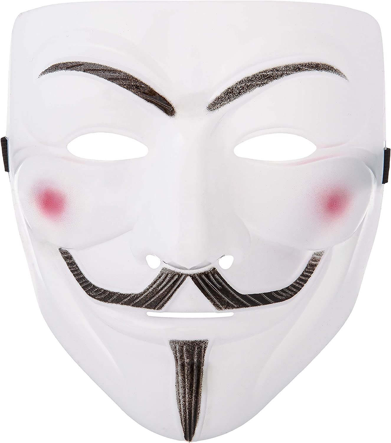 Maschera V per Vendetta Anonymous Guy Fawkes Halloween Fancy Dress Costume Cosplay