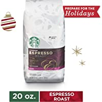 Amazon Price History:Starbucks Espresso Blend Dark Roast Whole Bean Coffee, 20 Oz. Bag | Great Holiday Gift for Coffee Lovers