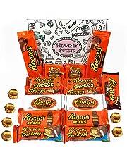Paquete grande para regalo de caramelos Reeses | Surtido incluye mantequilla de Cacahuete y mini bocados