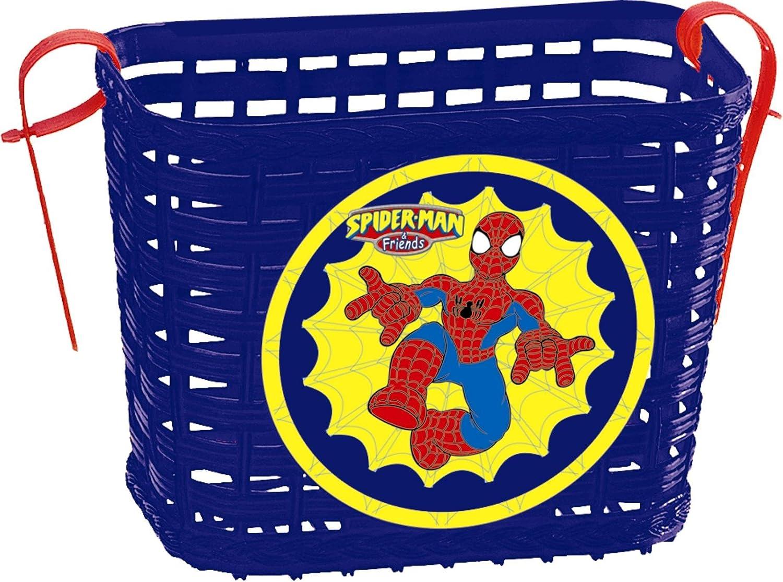 Saica Toys 0263 /Bicycle Basket Spiderman/