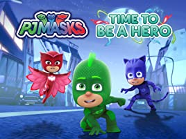 Amazon co uk: Watch PJ Masks, Time to Be A Hero | Prime Video