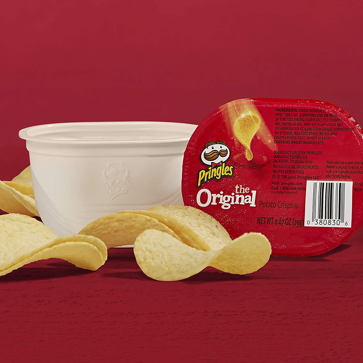 what pringles are made of