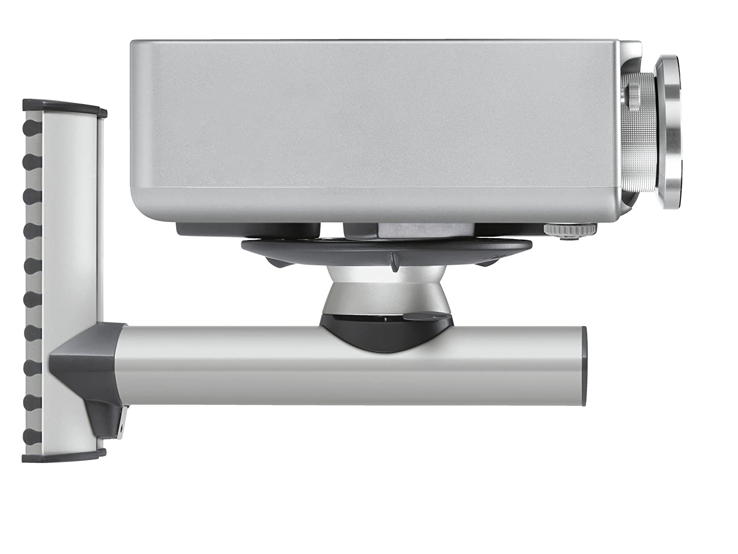 Universal Swivel and Tilt EPW 6565 Bracket for projectors max 22 lbs Black//Silver Vogels Projector Wall Mount