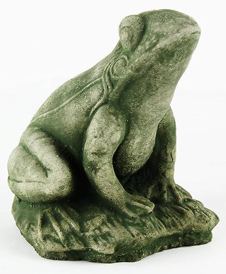 Frankie Frog Ornamental Concrete Garden Statue