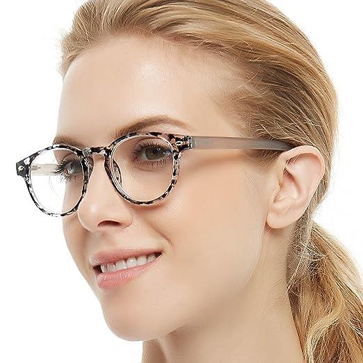 1e2010eb6554 OCCI CHIARI Lightweight Designer Acetate frame Stylish Reading Glasses For  Women (Black