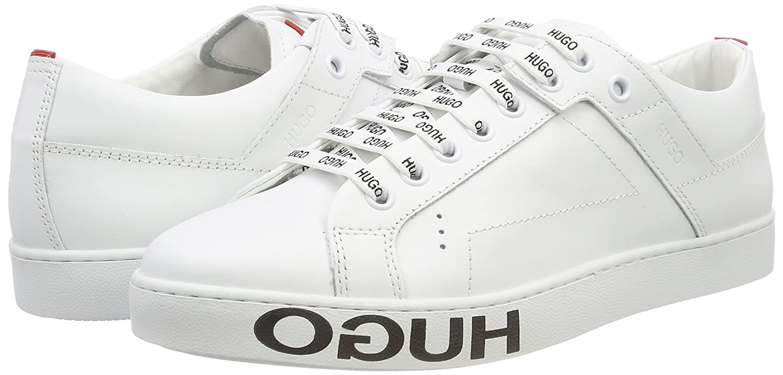 Hugo Women/'s Mayfair Cut-c Low-Top Sneakers 5 UK White White 100