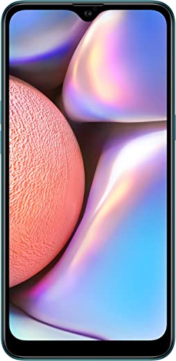 "Samsung Galaxy A10s (32GB 2GB RAM) 6.2"" HD+ Infinity-V 13MP+2MP 4G LTE (AT&T Europe Asia Africa Cuba Digitel) Dual SIM GSM Factory Unlocked A107F/DS - International Version - No Warranty (Green)"