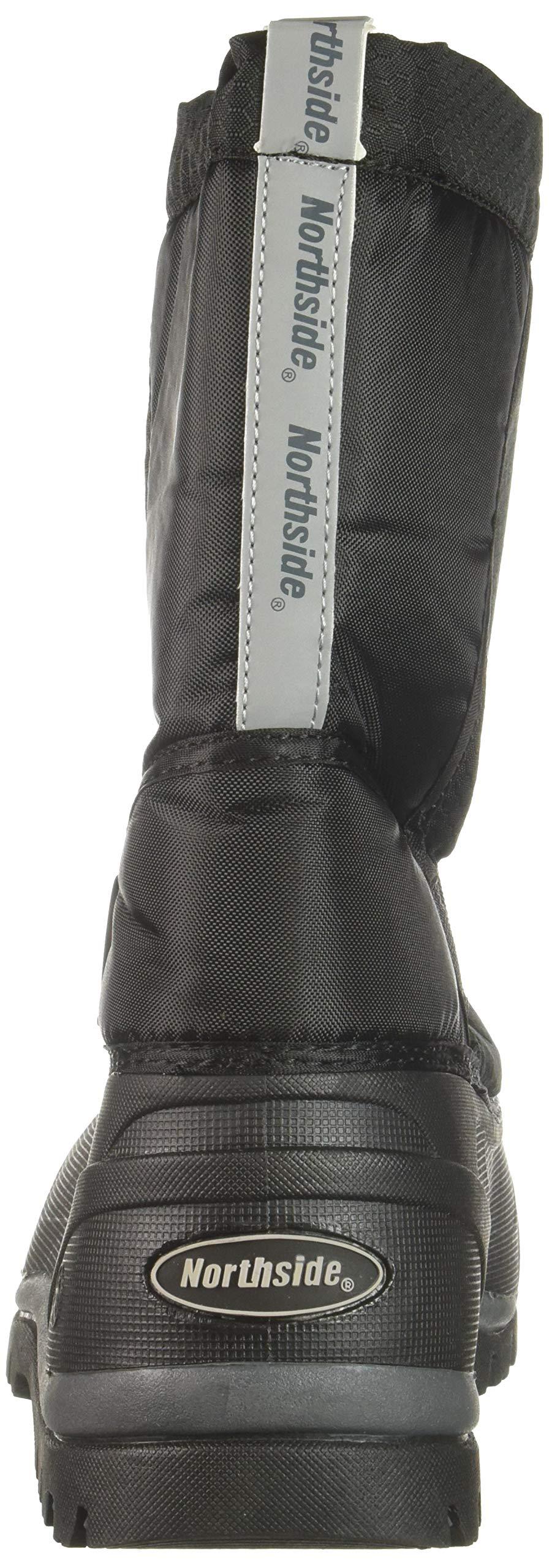 Northside Zephyr Snow Boot, Onyx, 6 Medium US Big Kid by Northside (Image #2)