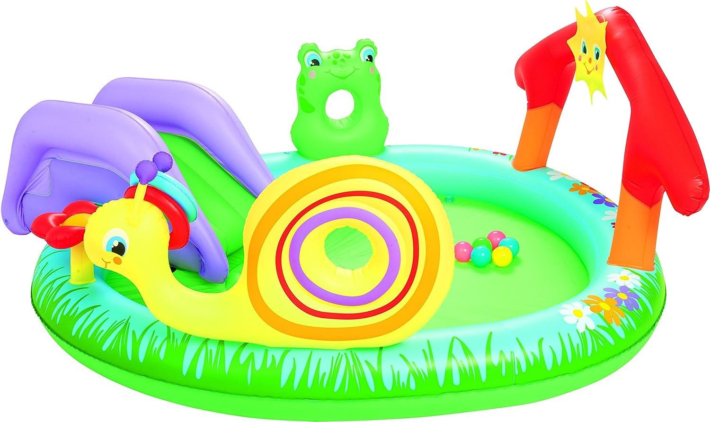 Bestway 8321476 8321476-Piscina Infantil (tobogán, 211 x 155 cm), Azul, 40x40x11 cm