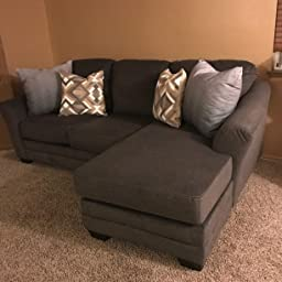 Super Amazon Com Benchcraft Braxlin Contemporary Sofa Chaise Onthecornerstone Fun Painted Chair Ideas Images Onthecornerstoneorg