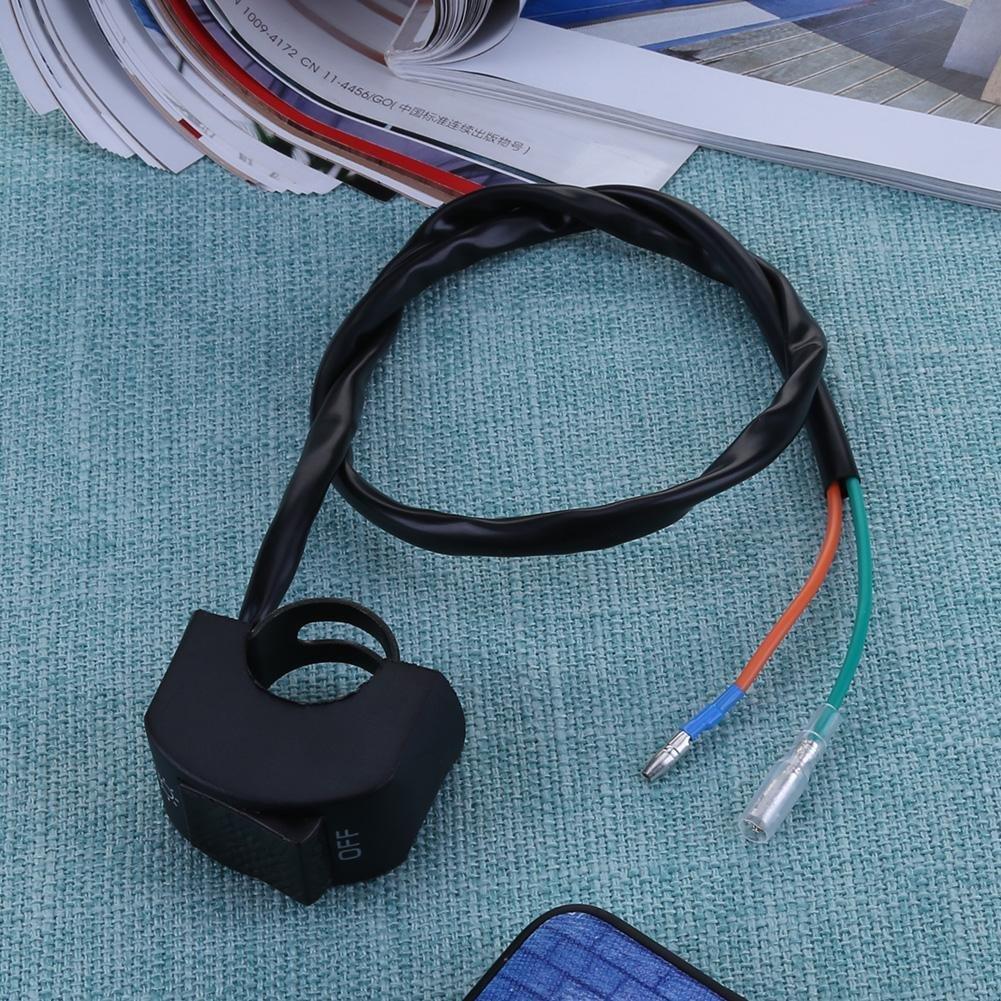 12/V 7//Q900/Moto Guidon Interrupteur on//off pour phare LED brouillard Light-tuankay