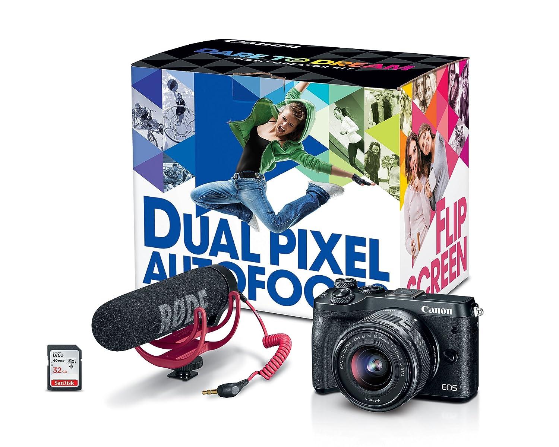 Canon EOS M6 Video Creator Kit