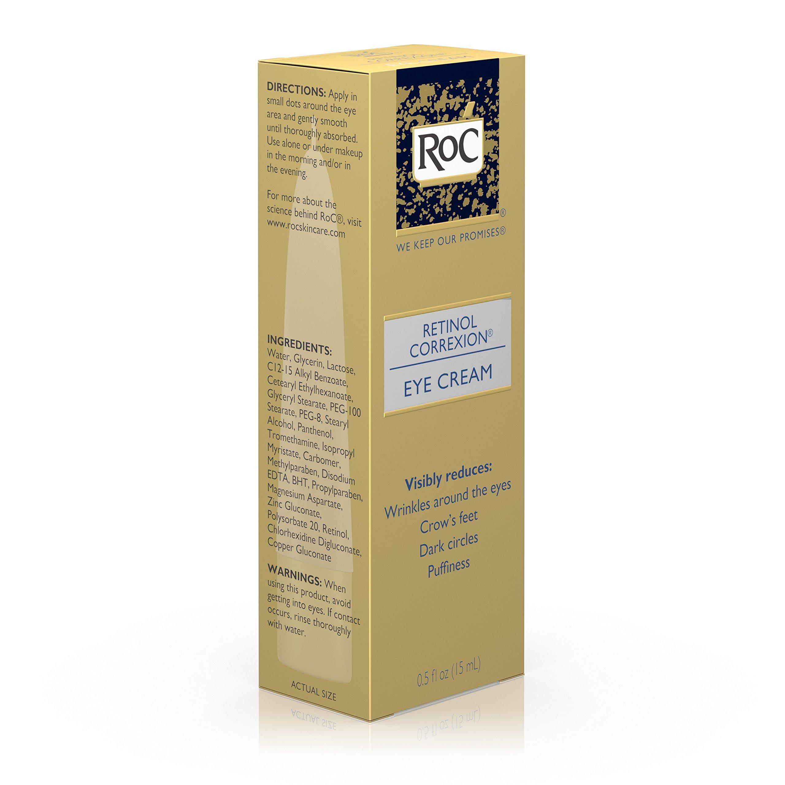 Roc Retinol Correxion Anti-Aging Eye Cream Treatment for