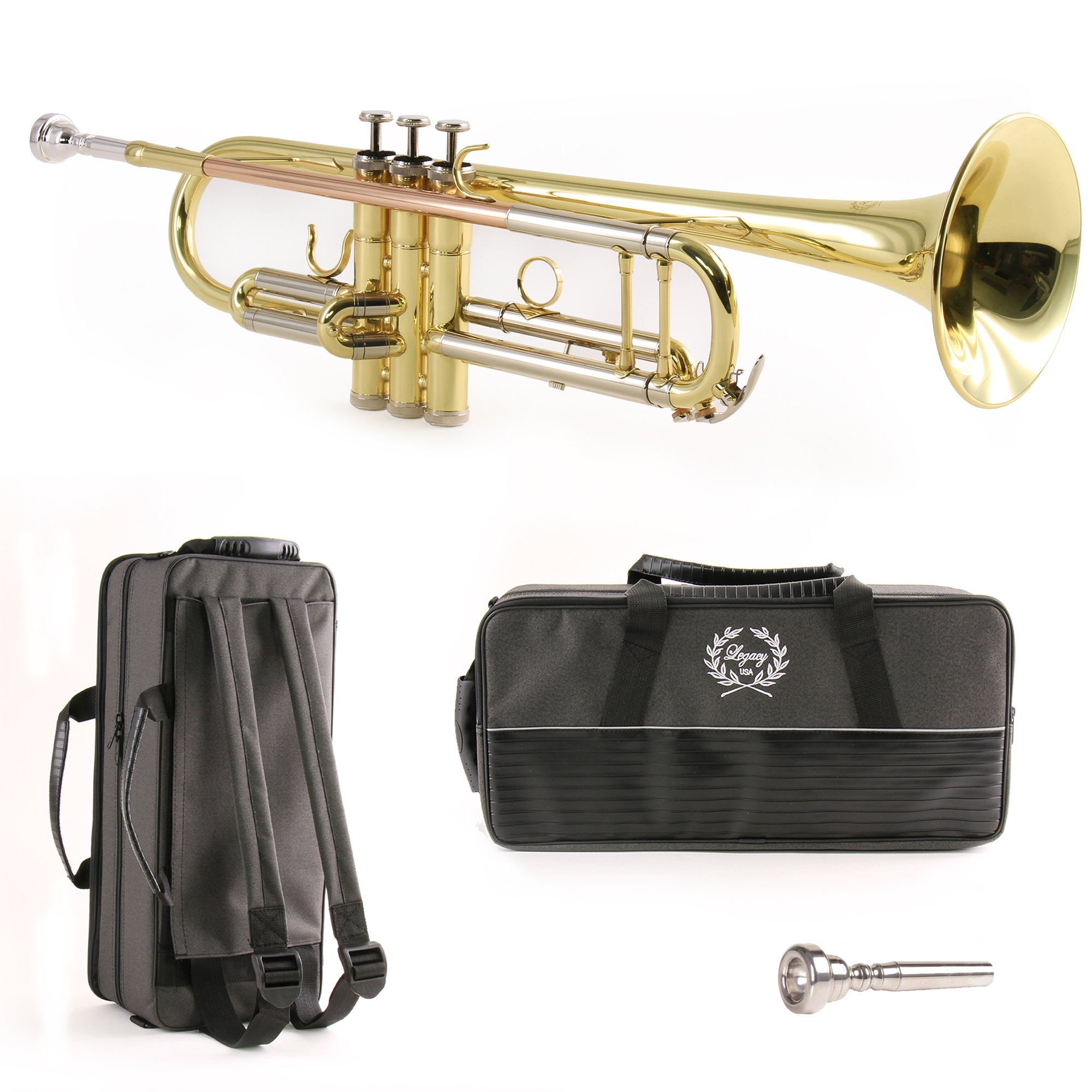 Legacy TR750 Intermediate Trumpet w/ Deluxe Convertible Case