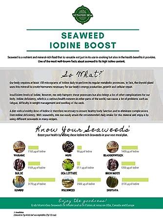 VitaminSea Organic Nori Seaweed Laver - 4 oz / 112 G Whole Leaf Maine Coast - USDA & Vegan Certified - Kosher - Perfect For Keto Diet - Sun Dried - Raw Wild Atlantic Ocean Sea Vegetables (NW4)