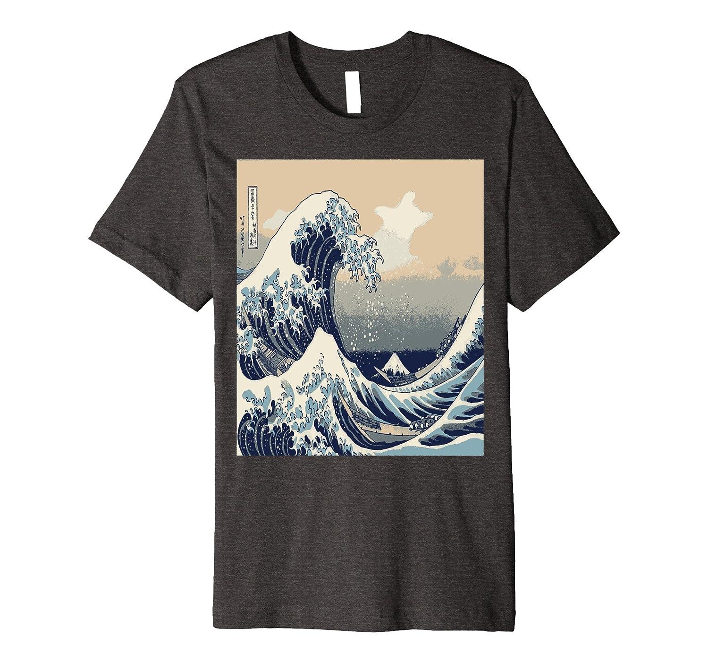 The Great Wave off Kanagawa T-Shirt Kanagawa-oki nami ura