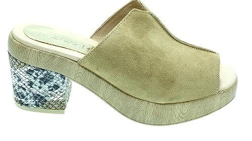 Amazon Zapatos Mujer Para Ante De Patricia Miller 1382 es Zueco Y wS7Zwq0xWB