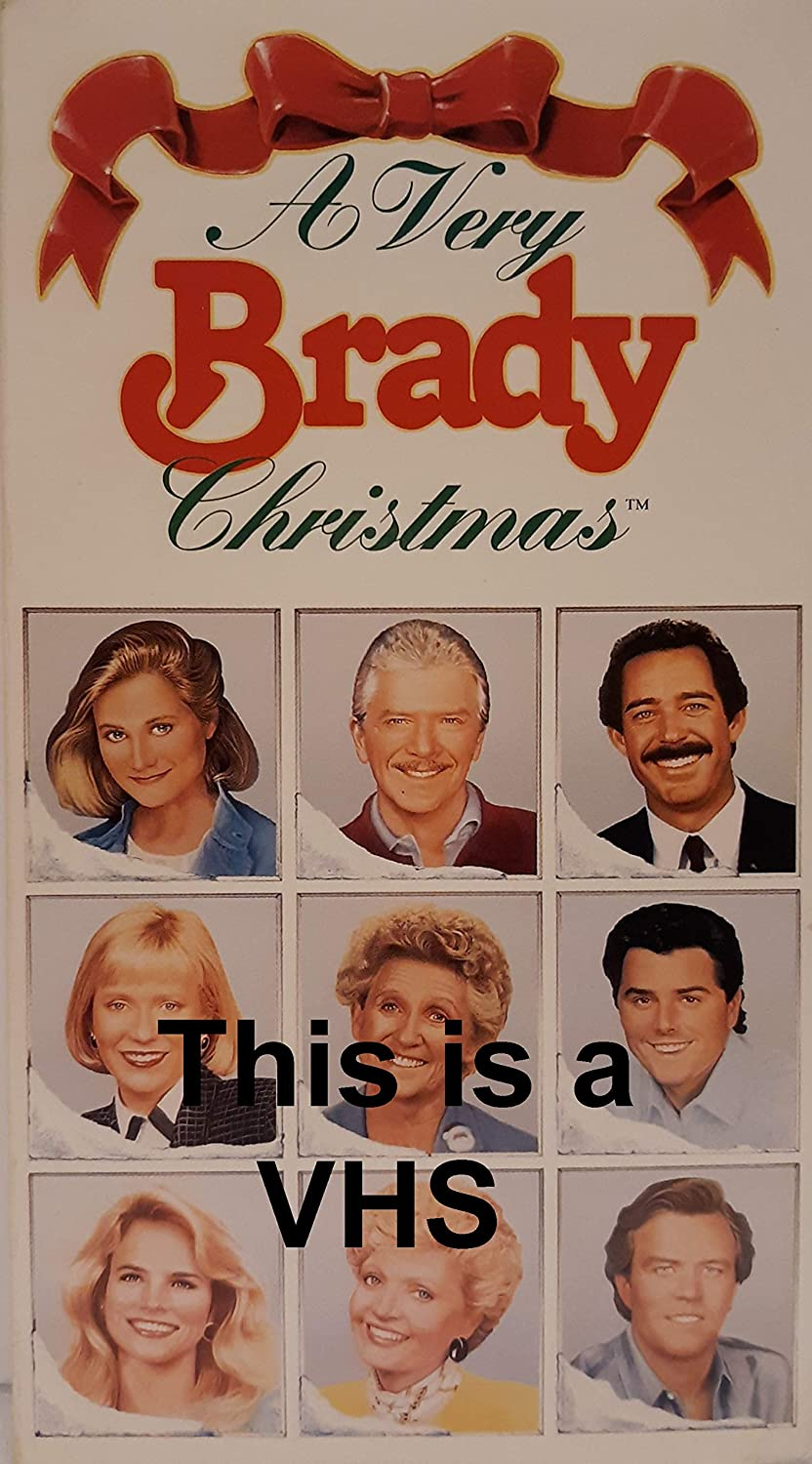 A Very Brady Christmas.Amazon Com A Very Brady Christmas Vhs This Is A Vhs