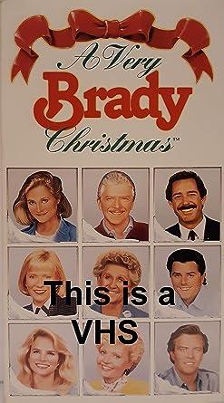 Very Brady Christmas.Amazon Com A Very Brady Christmas Vhs This Is A Vhs