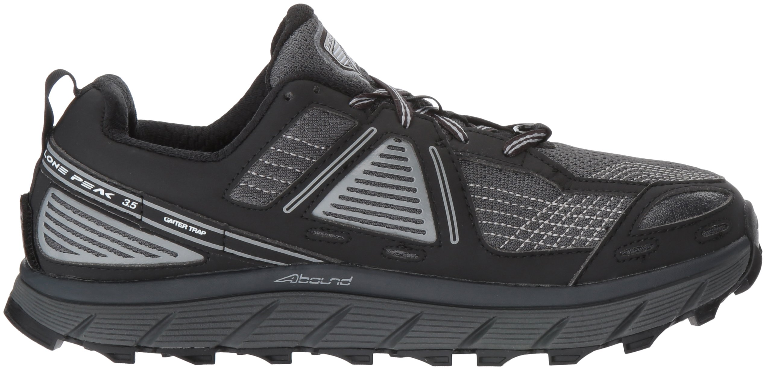 Altra Women's Lone Peak 3.5 Running Shoe, Black, 8.5 B US by Altra (Image #7)