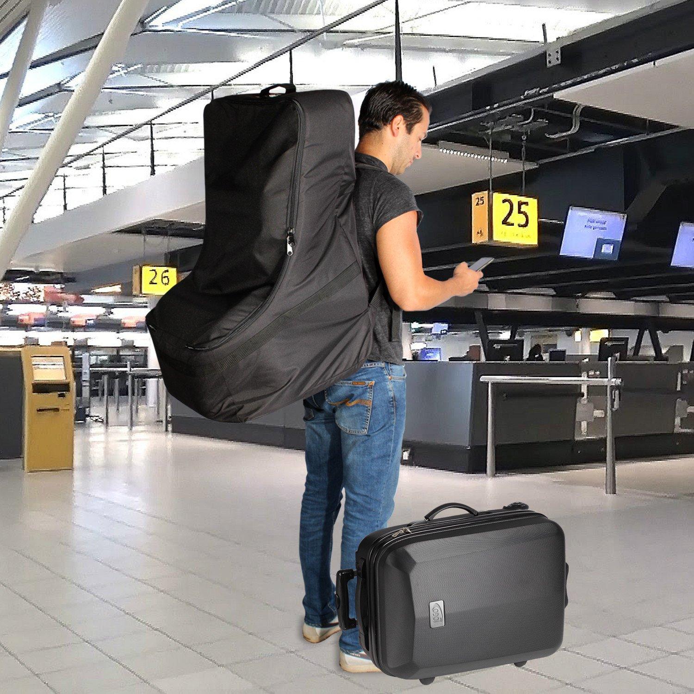 KHOMO GEAR Car Seat Travel Bag, Black, Universal by KHOMO GEAR