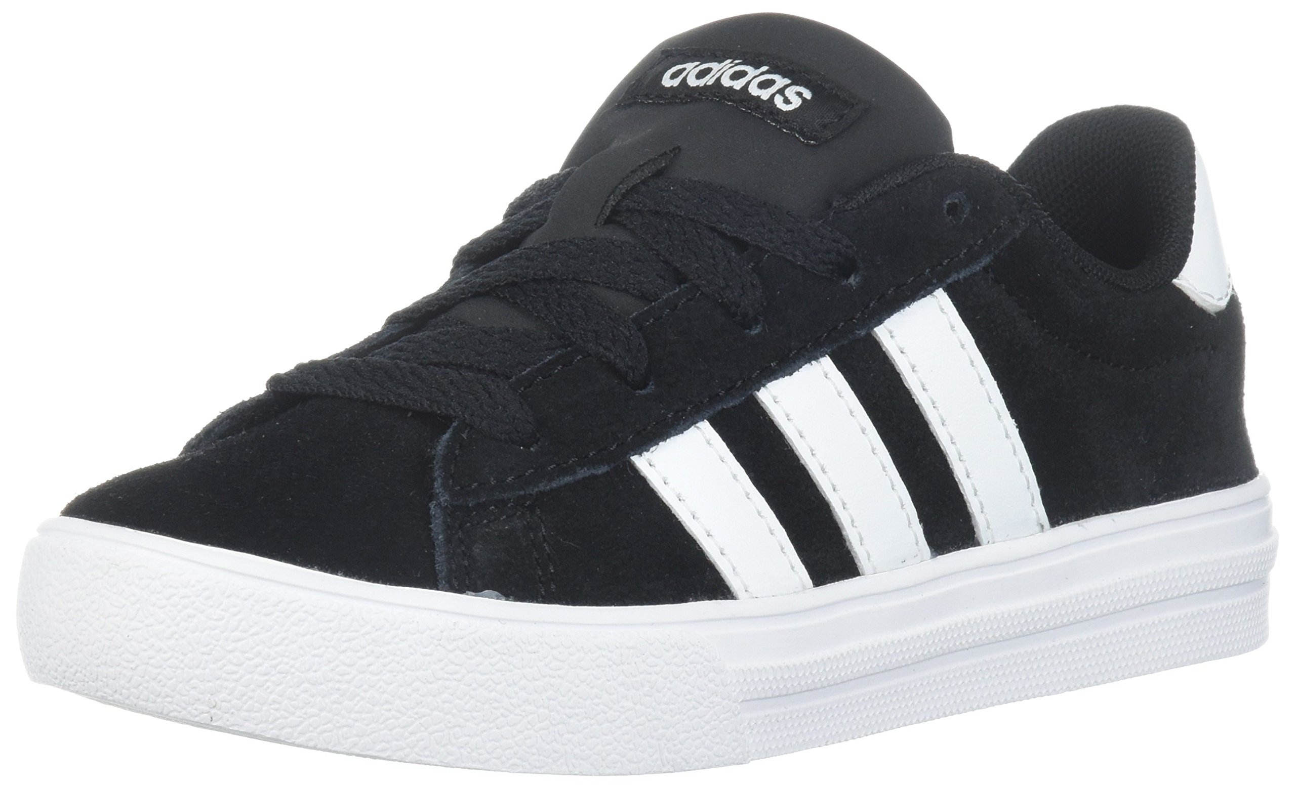 adidas Kids' Daily 2.0, Core Black/White/White, 3 M US Little Kid