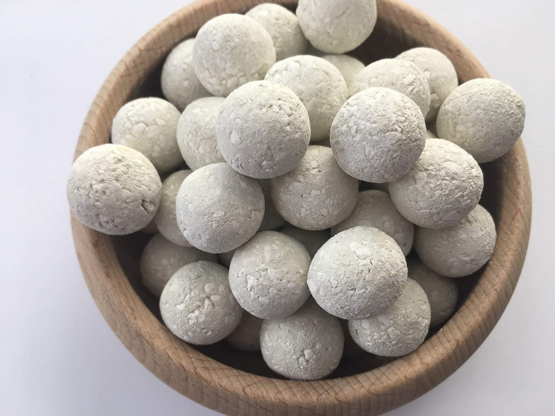 8 oz Edible Balls with KAOLIN clay and chalk natural for eating KAOLIN Edible Chalk Balls 220 g