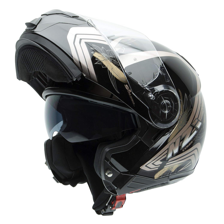 NZI Combi Duo Graphics Casco De Moto(Makeup,X-Grande)